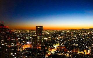 夜の街のイメージ
